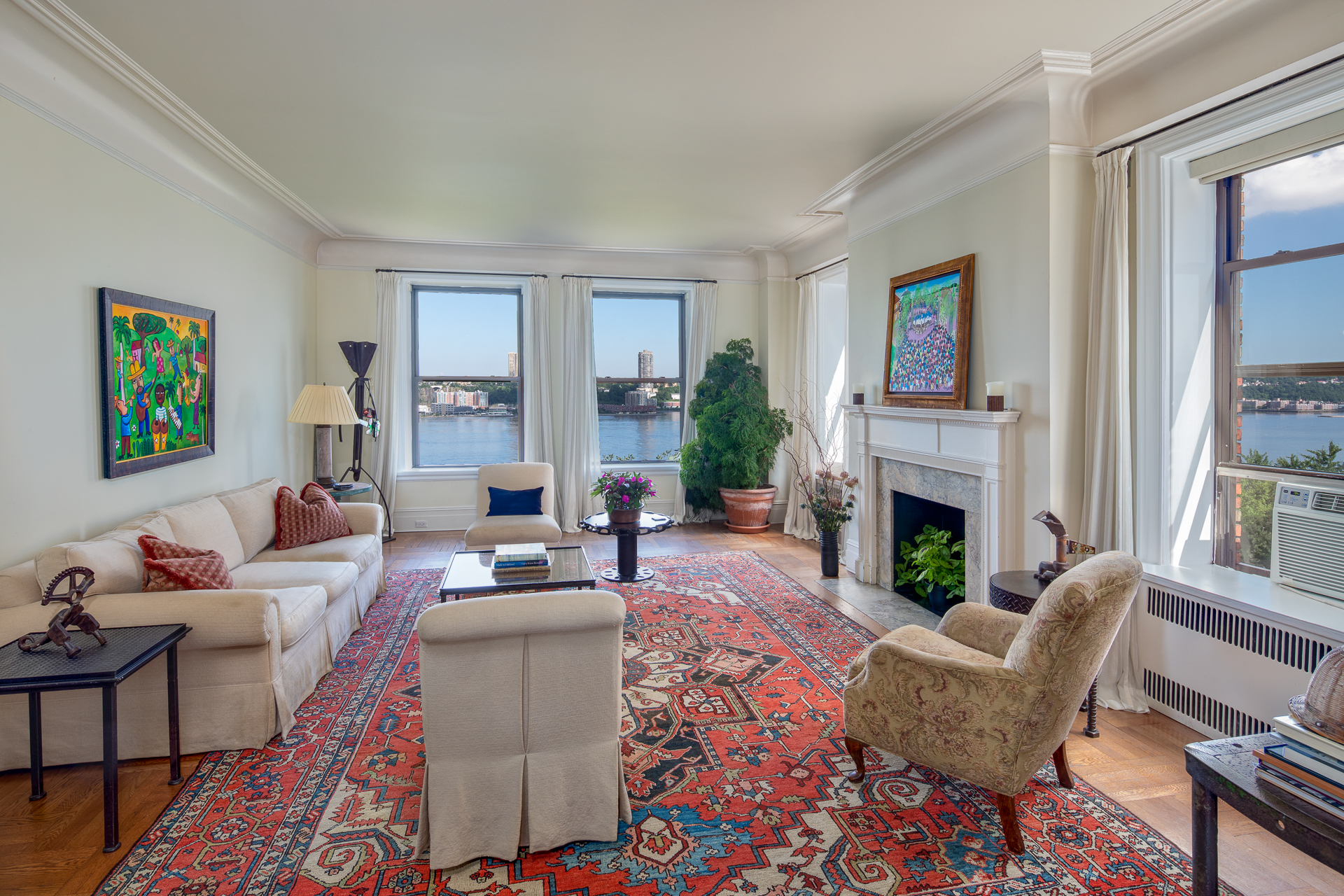 The Clarendon, 137 Riverside Drive, 8BC - Upper West Side, New York