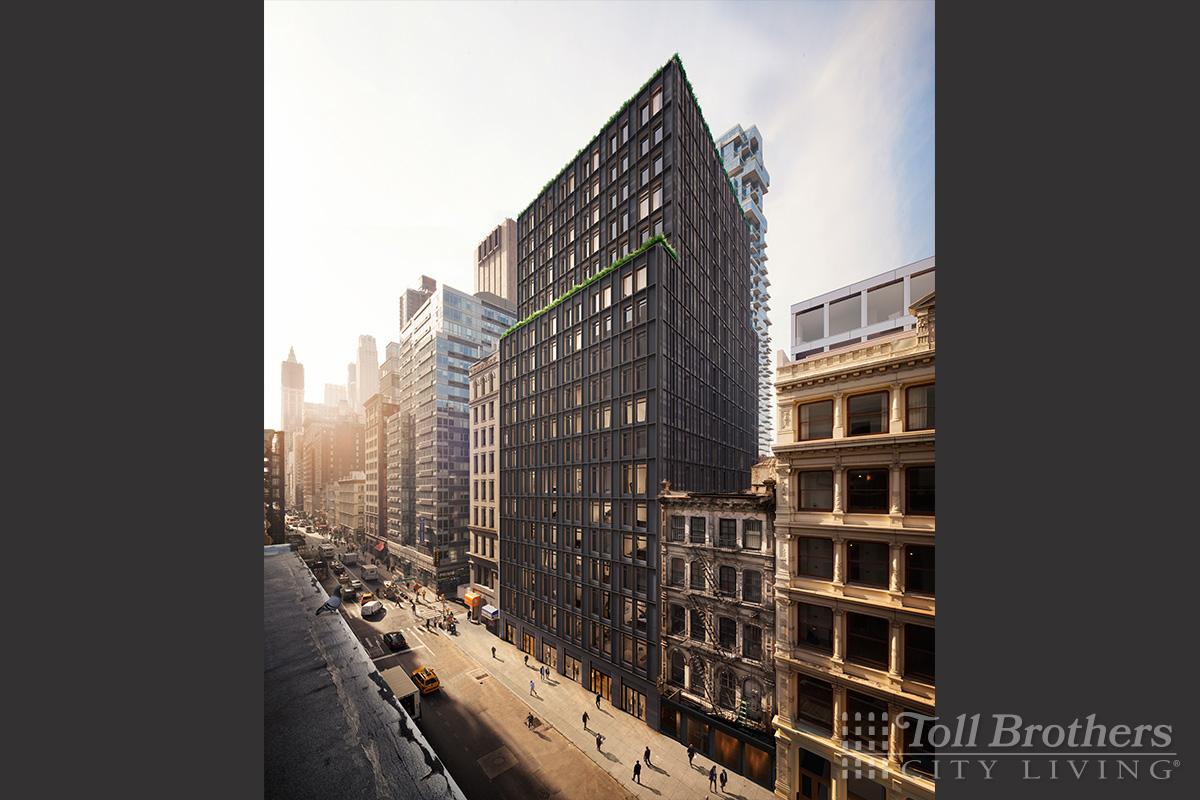 The Juilliard Building luxury condominium at 18 Leonard