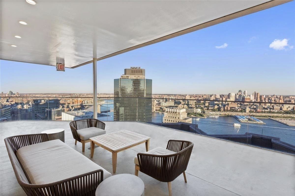 Please consider this 1,352-sq.ft. (126-sq.m.) 2-bedroom, 2-bathroom residence at the highly regarded 75 Wall Street Condominium  most sought-after investment property location in New York City, with a tenant already in place. This Unit is located in one of the most desirable lines in the building. Airy and bright, this sophisticated apartment offers appealing chef's kitchen perfect for entertaining, deluxe finishes throughout, and the ultimate serenity to unwind. This Unit offers lots of storage space, including a walk-in closet. A washer and dryer are conveniently located in the unit.The apartment features:Ceilings over 10 feet 6-foot-tall windows Panoramic views Wide planked cerused oak flooring Washer and Dryer Mont Blanc Agglomerate stone counters with glass tiled backsplash Appliances by Subzero, Liebherr, Bosh, Miele, Electrolux, Faber, GE and Sharp Southeast Asian solid wood cabinets Desiron gun metal free standing sink frame and metal legs Honed empress white marble walls and floors75 Wall Street Condominium is located in energetic Financial District, on top of the 5-star Andaz Hotel. With over 30,000 square feet of luxurious amenities, you will be able to enjoy valet service, housekeeping, a fitness center - complete with cardio space, weight training and a yoga studio, a billiards room, cinema room and a parking garage. The wraparound roof terrace offers 360-degree extraordinary views of the city skyline, both day and night, and is the perfect place to enjoy that well-deserved evening cocktail! Optional hotel services are available, as well as valet parking next door.All you need is right at your fingertips. Shopping center at Brookfield Place with leading brands such as Le District, Saks Fifth Avenue, Hermes, and Burberry  and of course the newly Westfield World Trade Center this building is at the center of it all. Accessibility to nearly every subway line, Fulton Center, major food markets and restaurants such as Eataly, Nobu, North End Grill, and many 