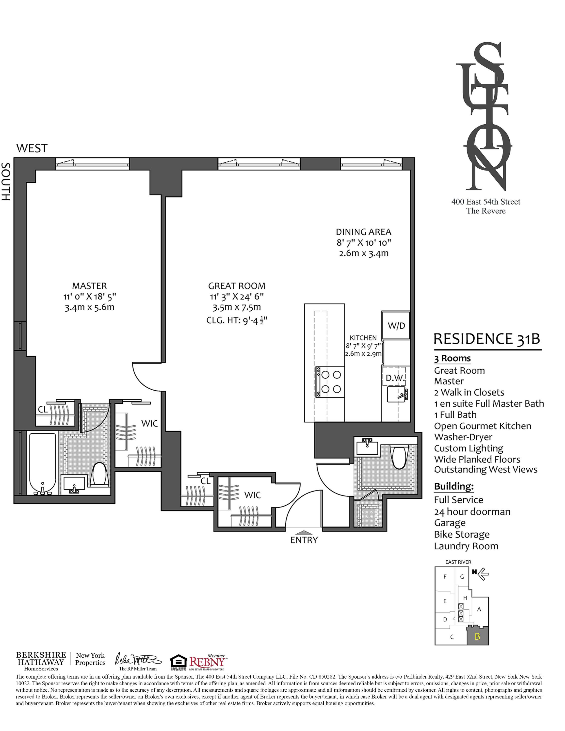 400 East 54th St. 31B, New York, NY 10022 | Berkshire Hathaway ...