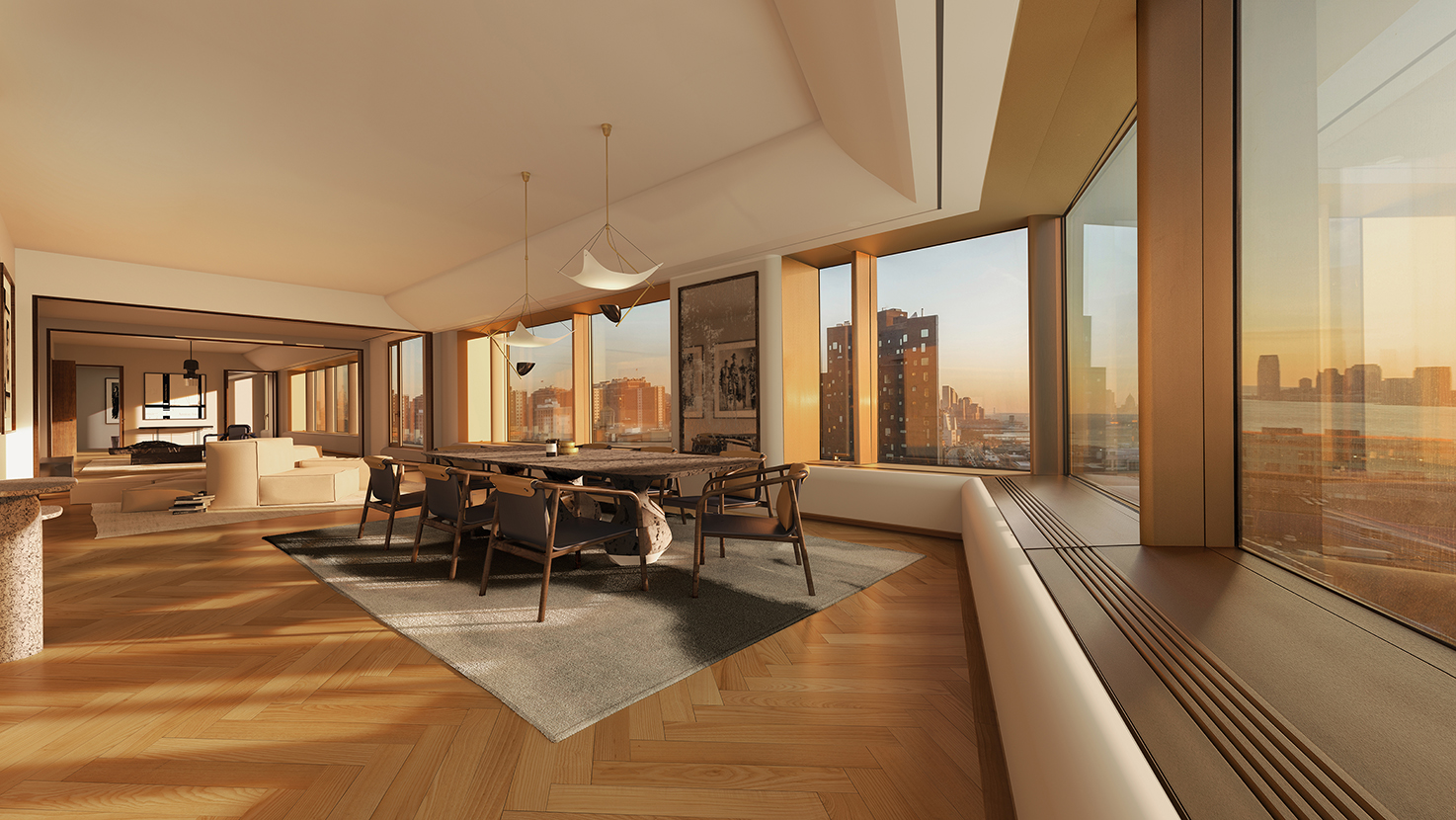 Condominio por un Venta en 551 West 21st Street, 15th Floor New York, Nueva York,10011 Estados Unidos