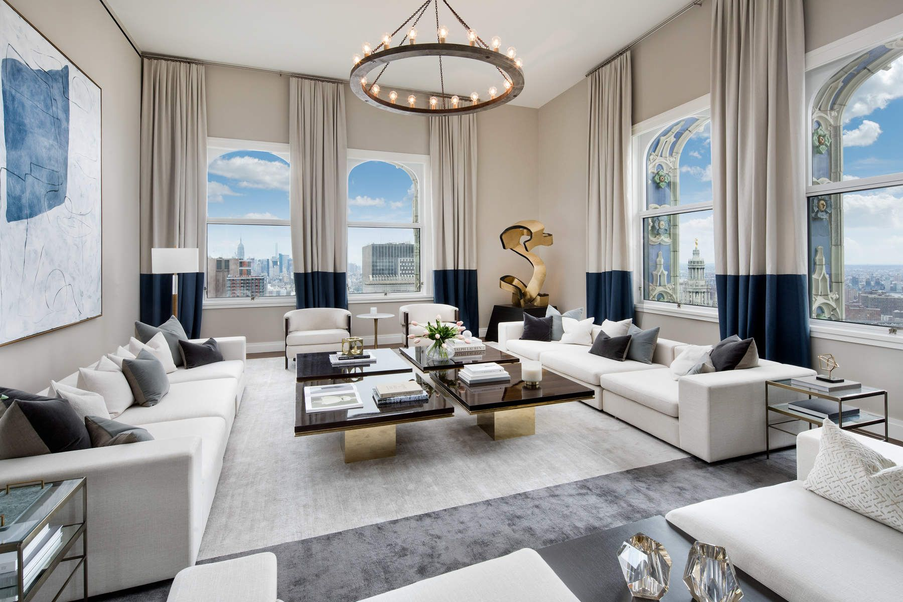 Condominium for Sale at The Woolworth Tower Residences, 2 Park Place 40-AB 2 Park Place New York, New York 10007 United States