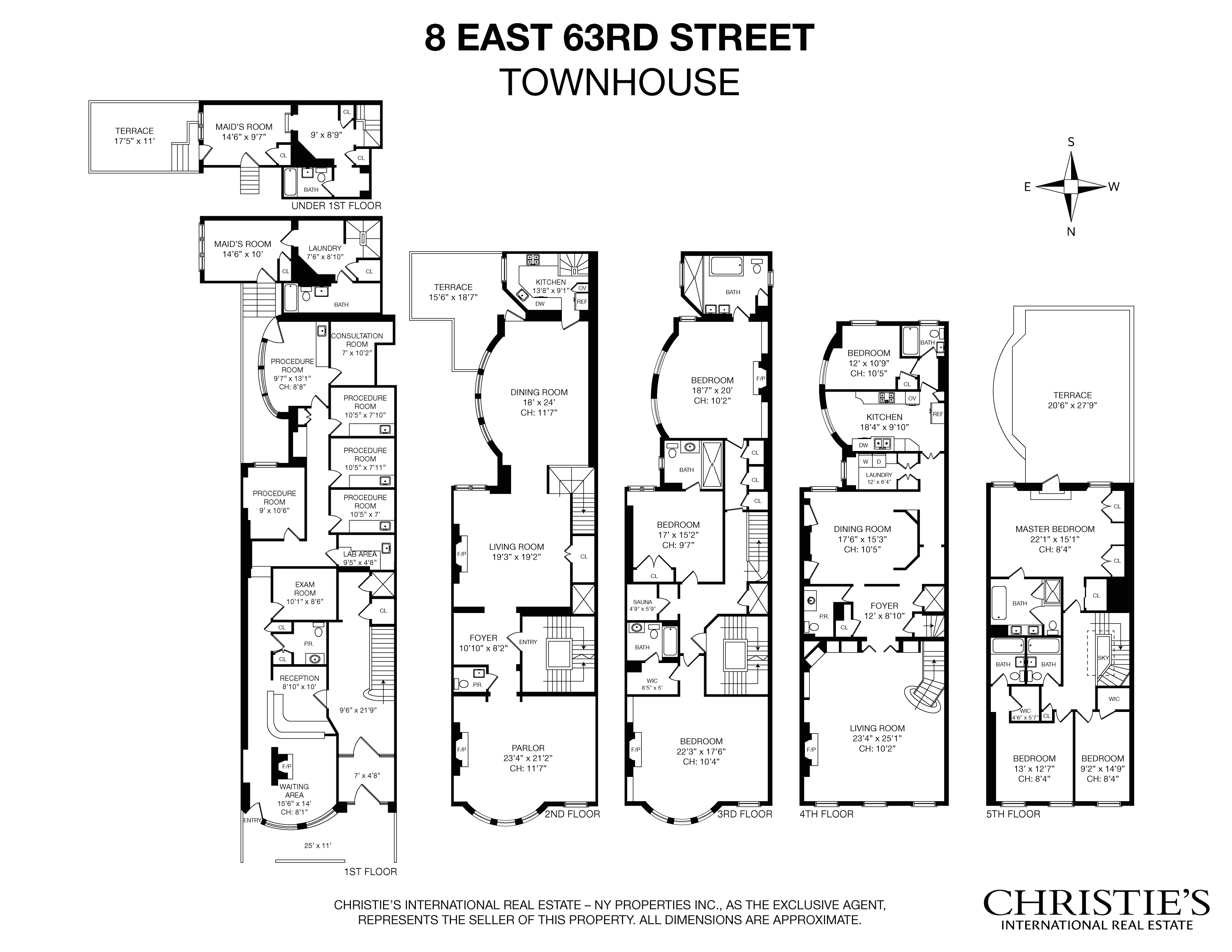 8 East 63rd St., New York, NY 10065 | Berkshire Hathaway ...  Zip Code Map on