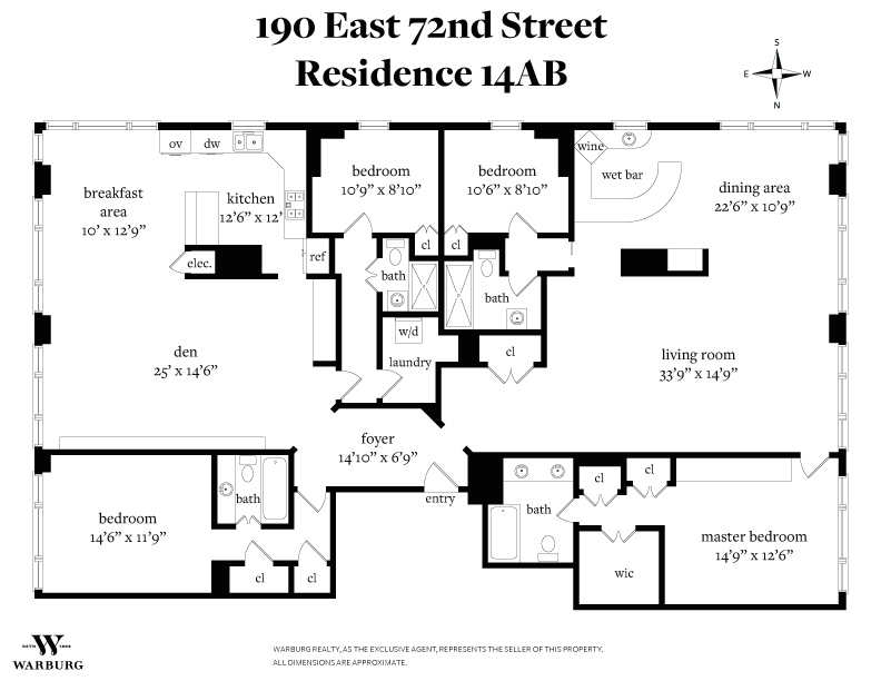 Tower East Upper East Side New York Co Op For Sale 4