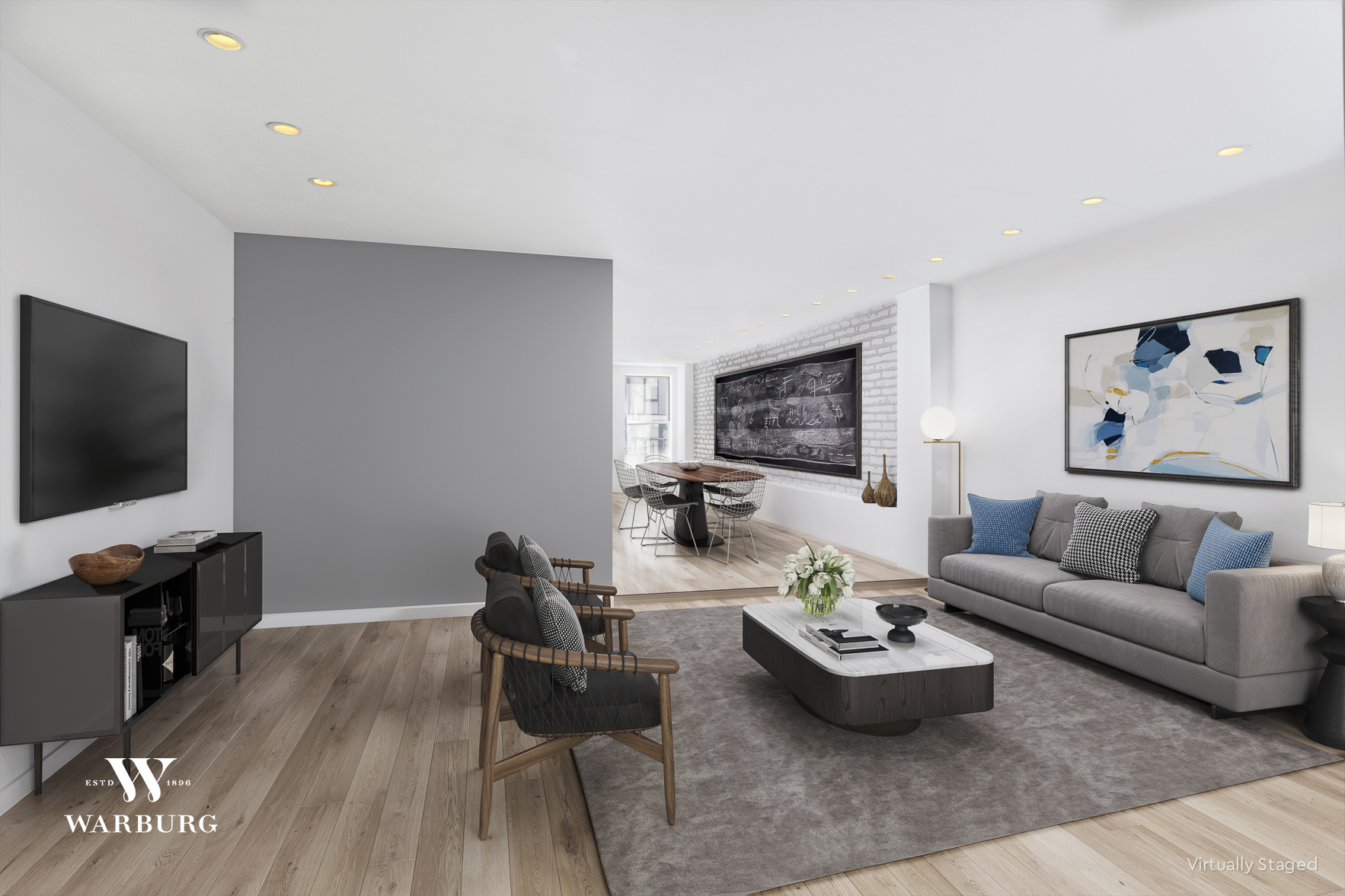 472 Greenwich Street Interior Photo