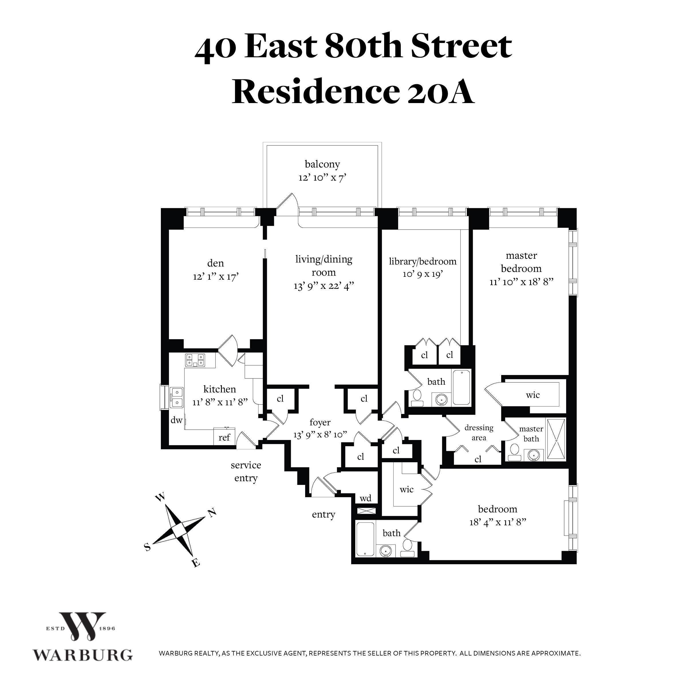 40 East 80th Street Upper Side New York