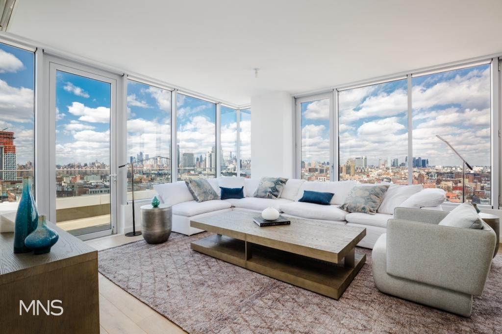 190 South 1st Street, PH, | Williamsburg Brooklyn Condominium for Sale 3  bedrooms 2 full bathrooms and 1 partial bathrooms | Christie's  International