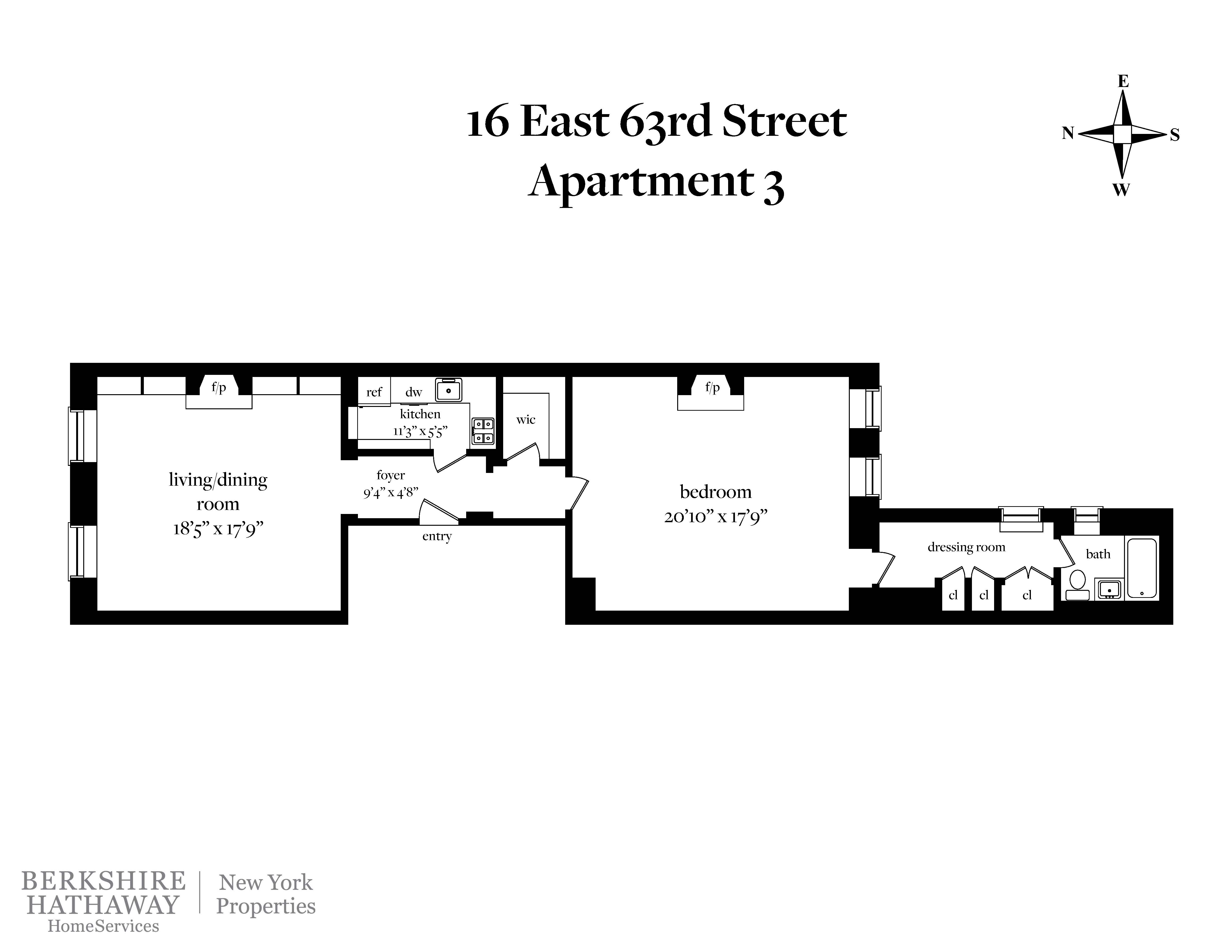 16 East 63rd St. 3, New York, NY 10065 | Berkshire Hathaway ...  Zip Code Map on