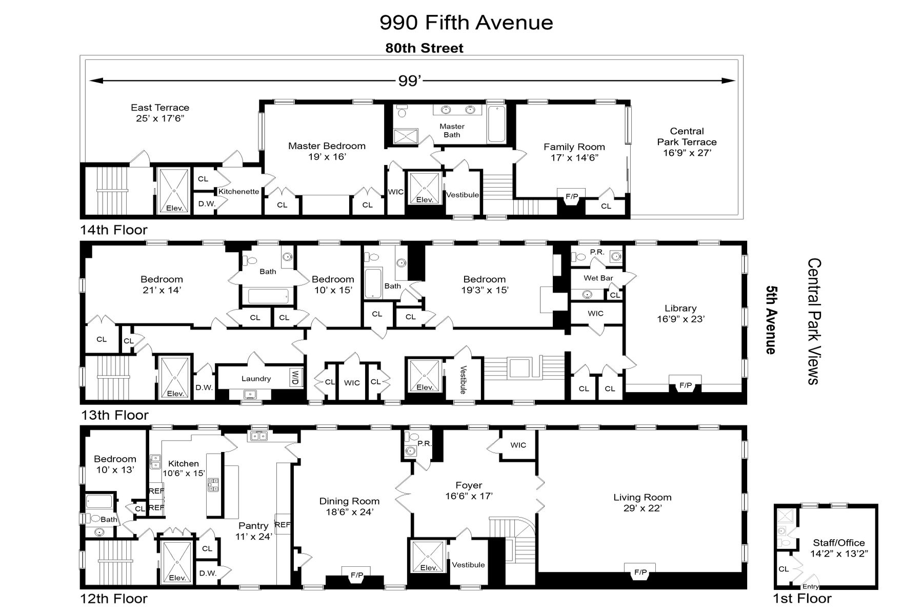 990 Fifth Avenue Upper East Side New York NY 10075