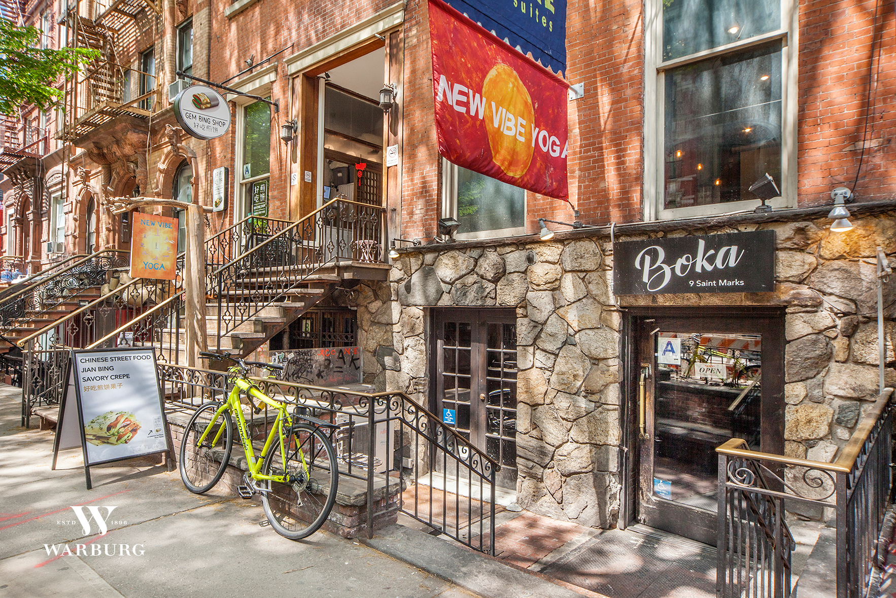 9 Saint Marks Place E. Greenwich Village New York NY 10003