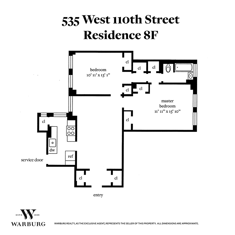 535 West 110th Street Morningside Heights New York NY 10025