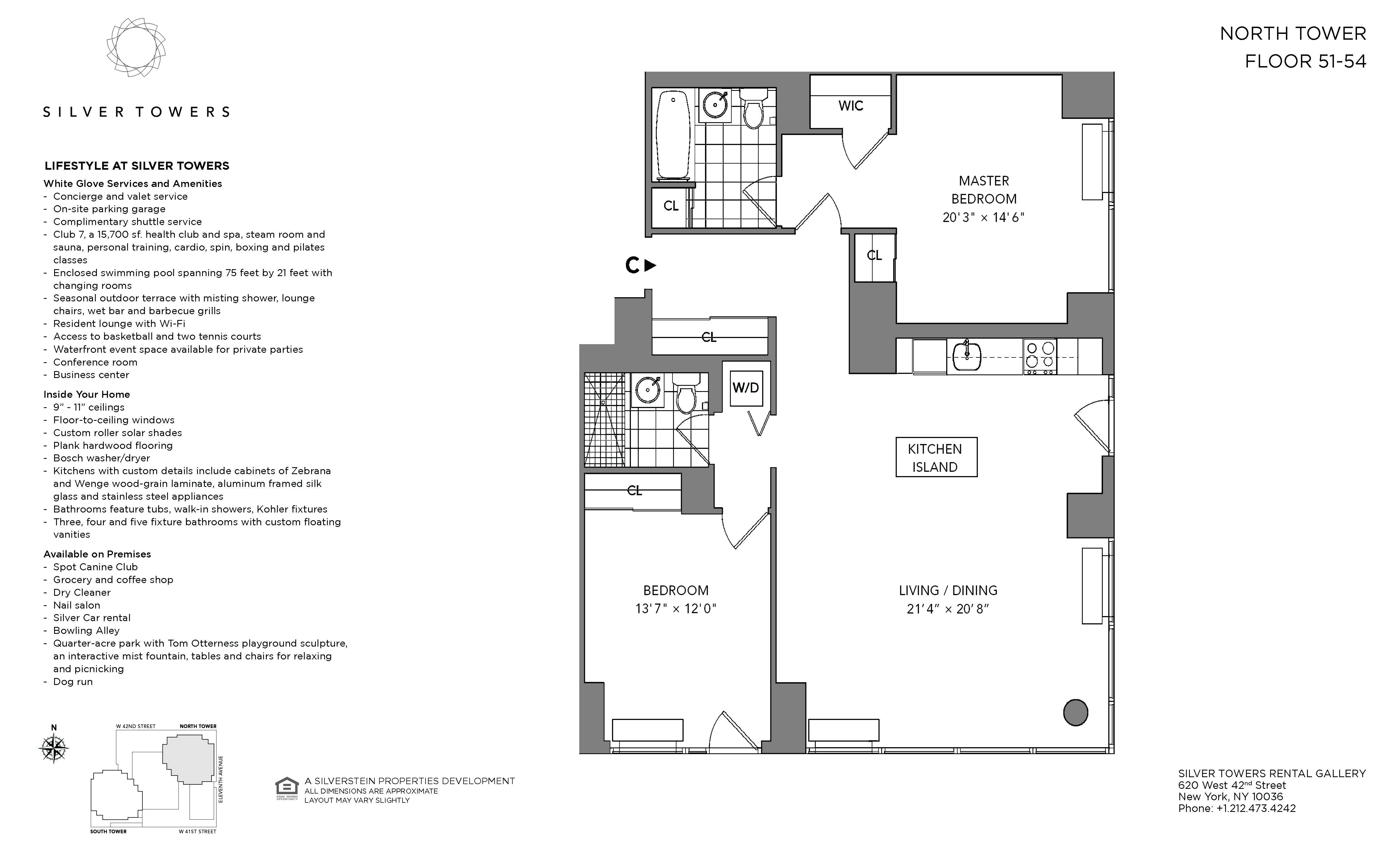 NYC Luxury Apartments – Availabilities – Silver Towers