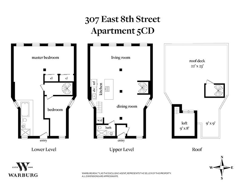 307 East 8th Street E. Greenwich Village New York NY 10009