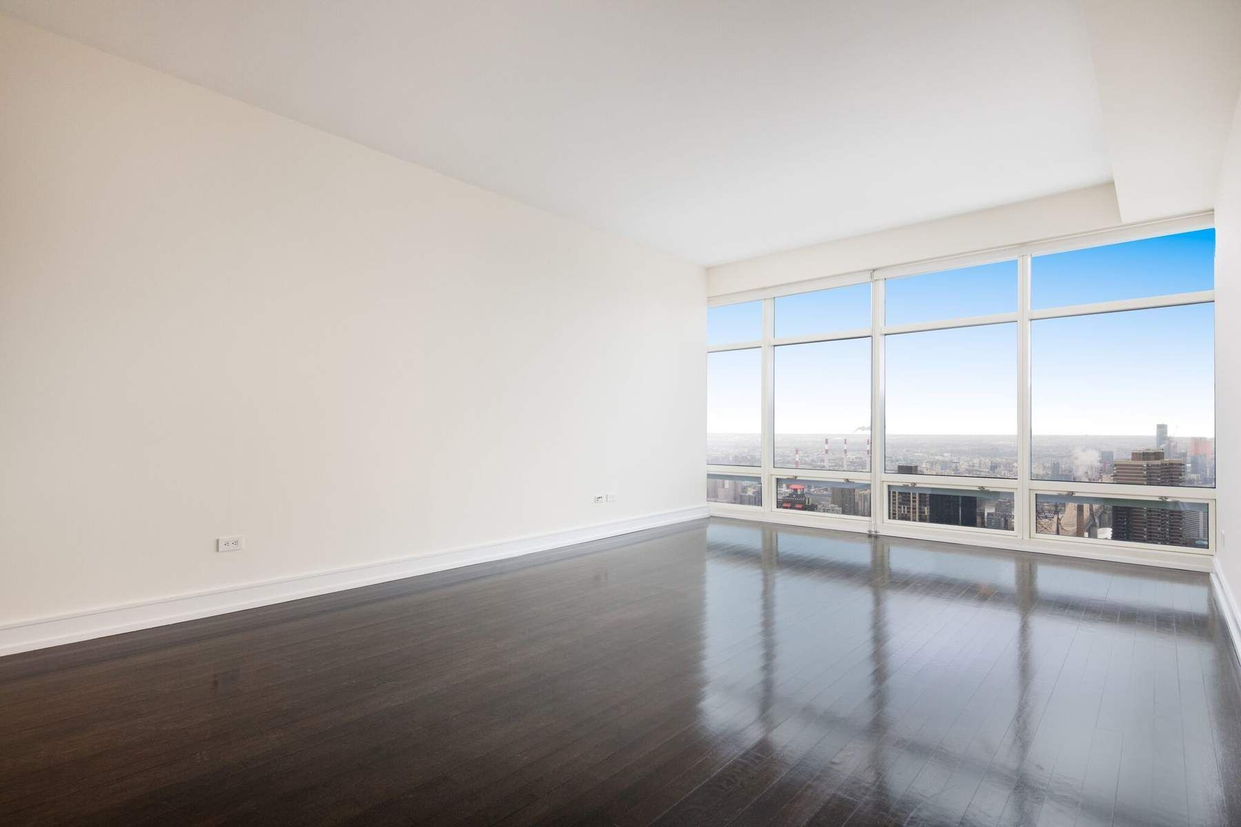NO BROKER FEE / BROKERS CYOFHigh floor two bedrooms, two bathrooms and a powder room at One Beacon Court Condominium offers approx. 1,364 sq. ft. of the gorgeous sun-flooded eastern exposure with stunning East River views through floor-to-ceiling windows. Residence 39C features 10 ft. high ceilings, hardwood floors throughout, and washer/dryer in the unit. The living room is spacious, ideal for relaxing and entertaining. A chef's kitchen featuring beautiful lacquered cabinetry, top-of-the-line appliances, and stone countertop. A master suite features a marble bath with mosaic marble floor, white marble vanity with double sink, soaking tub, separate shower and large walk-in closet. There is a secondary bedroom with an en-suite bathroom and a large closet.One Beacon Court was designed by the renowned Architect, Cesar Pelli and is a modern classic, with an elliptical shaped courtyard, inspired by the shape of the Pantheon in Rome. A full service building with full time doorman, concierge, and security, on-site resident manager, state-of-the-art fitness room and lounge on the 29th floor. Located minutes from Central Park, Fifth Avenue and Madison Avenue fine shopping, dining and midtown business centers.Available to show Monday through Friday from 10AM to 4PM. No-showing on Saturday and Sunday.
