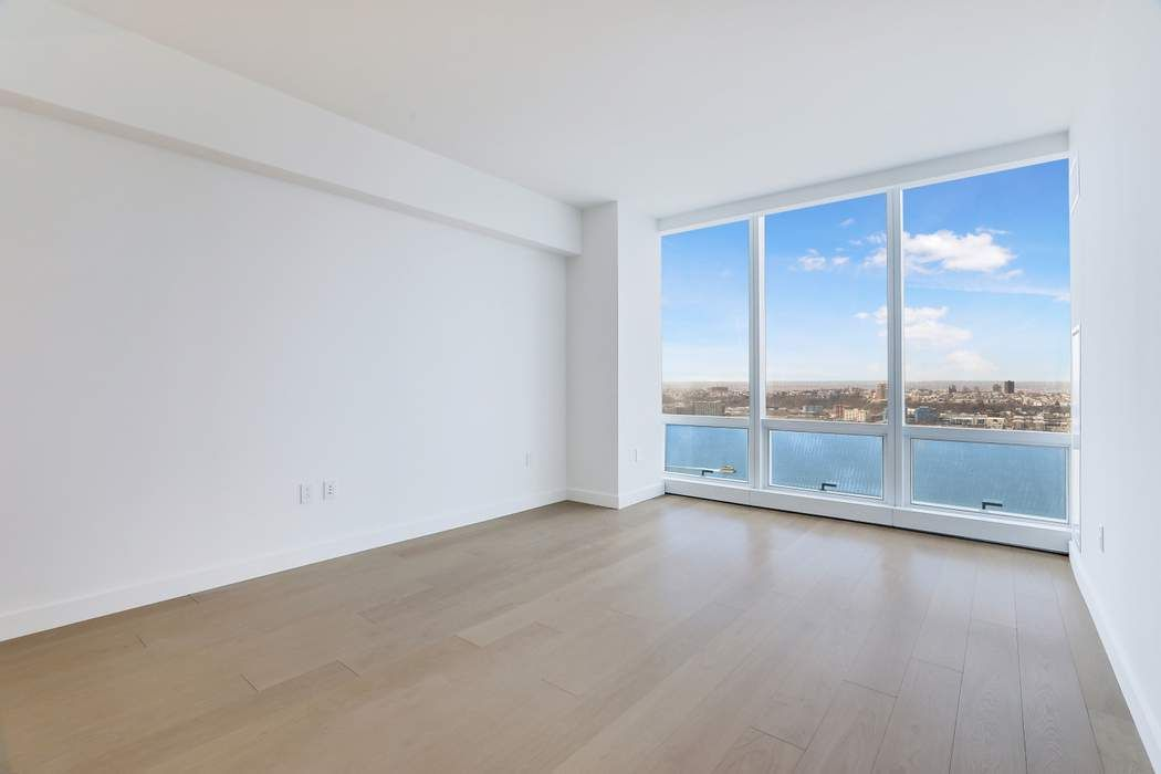 Be a trendsetter - experience gorgeous sunsets and live in New York's most exciting new building 15 Hudson Yards and new neighborhood Hudson Yards. Sun splashed one bedroom apartment with high 10' ceilings, floor to ceiling windows with western Hudson River views. Beautiful open kitchen with Miele appliances, custom oak cabinetry and a very substantial marble island makes entertaining a pleasure. The luxurious marble bathroom boasts a custom marble vanity, deep soaking tub, a glassed-in shower and heated floors. The spacious bedroom also enjoys splendid water views and has a large walk in closet. There is a vented Whirlpool washer/dryer.Fifteen Hudson Yards offers over 40,000 square feet of unparalleled amenities on several floors. A Wright Fit designed 3,500 sf fitness center, spa, treatment rooms, pool, private studios for yoga and fitness classes, two private dining suites, wine storage and tasting rooms, lounge, club room , business center, golf club lounge, screening room, conference room, children's playroom and a roof deck.Directly on the HighLine, the building is at the center of Hudson Yards which is serviced by the 7 line and close to art galleries, The Shops and Restaurants at Hudson Yards featuring 100 shops and 25 restaurants, the Vessel, and the Hudson River Park