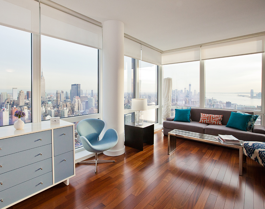 NYC luxury apartment interior