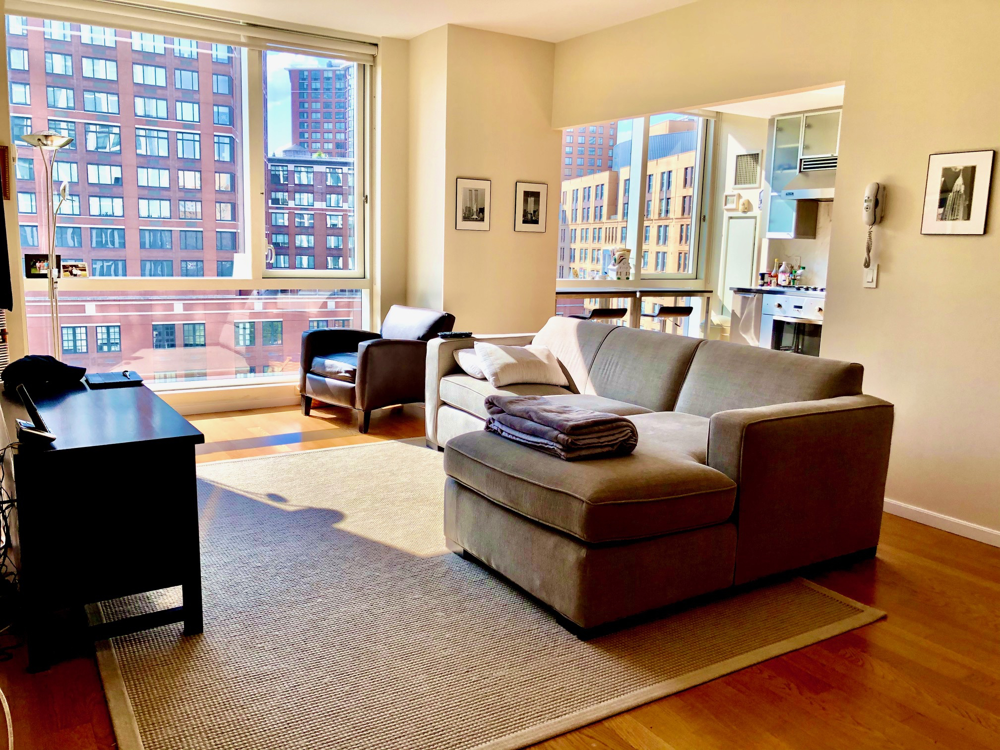 BRAND NEW: Exclusive Full service new development 2bed/2bath rental in the heart of Tribeca available September 1st. Building amenities include Pool, Gym, Garage, 24hr. concierge. Top of the line kitchen, bathrooms, washer-dryer in apartment…Will go fast! High-end luxury address! Apartment Features : West, Washer/Dryer Building Features : Courtyard, Garden, Roof Deck, PrivStorage, CentralLaundry, VideoSecurity, Guard, Pool, HealthClub