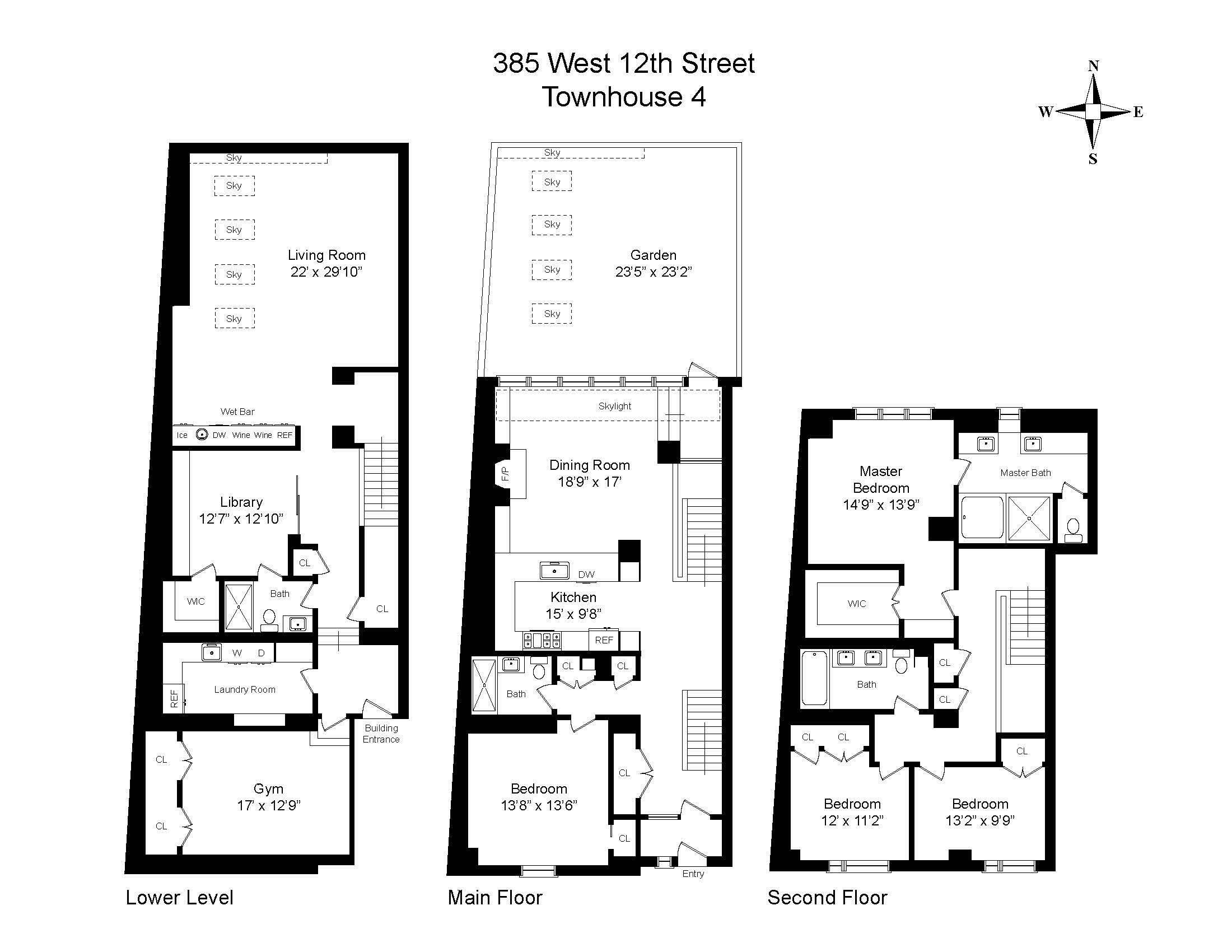 385 West 12th Street W. Greenwich Village New York NY 10014