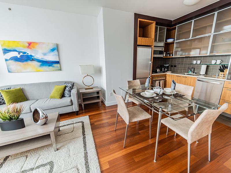 NYC luxury apartment interior