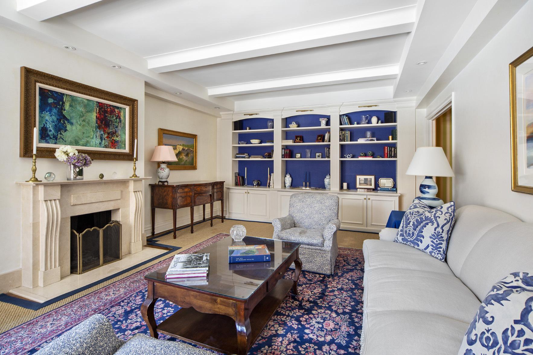 living room inside 136 East 64th Street New York, NY, USA