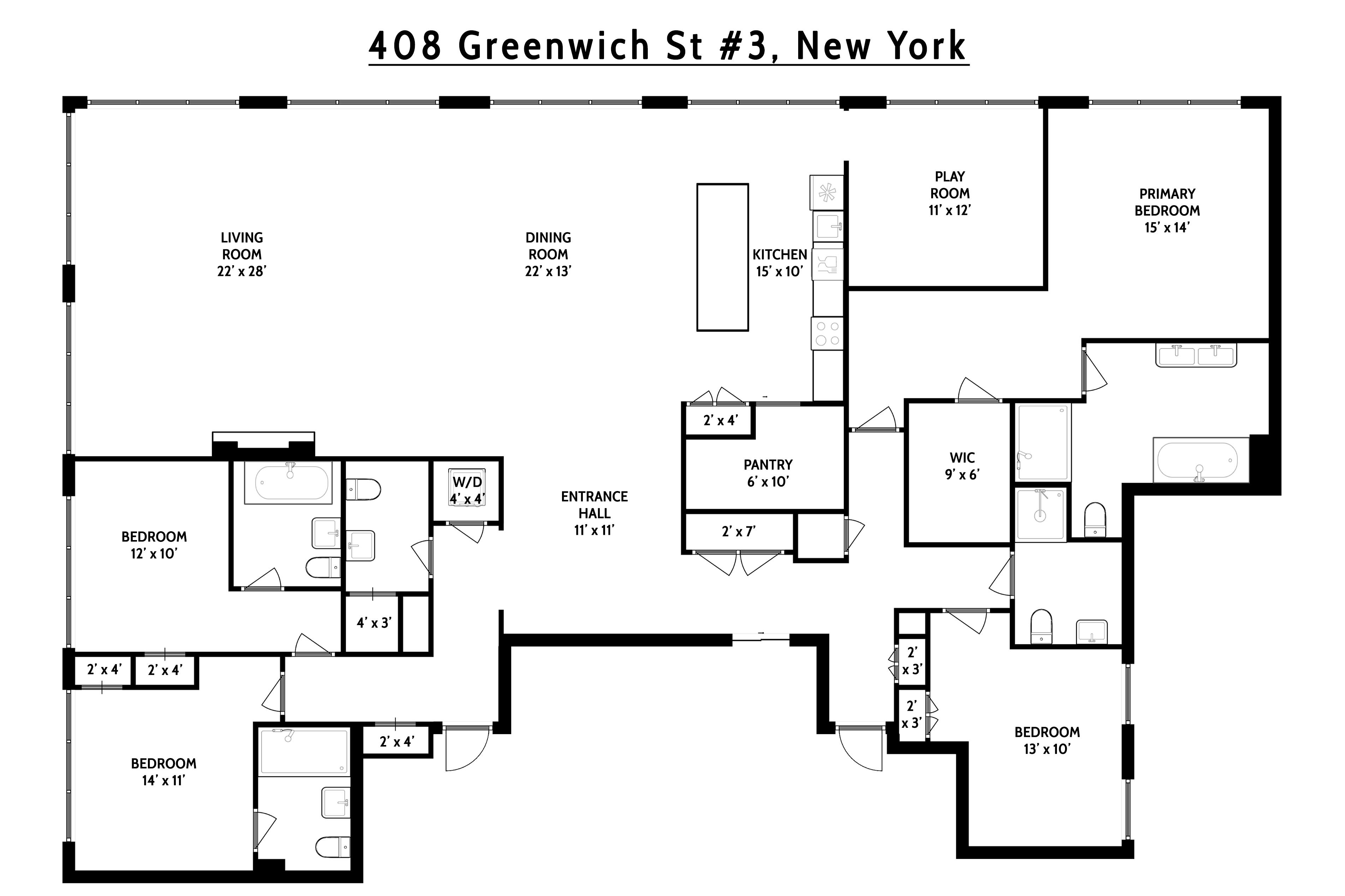 408 Greenwich Street Tribeca New York NY 10013